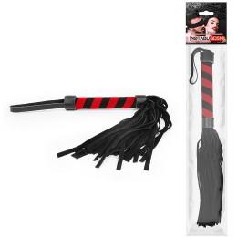 Плетка Notabu цвет чёрный ручка 155 мм, хвост 230 мм