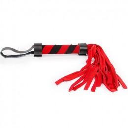 Плетка Notabu цвет красный ручка 110 мм, хвост 160 мм