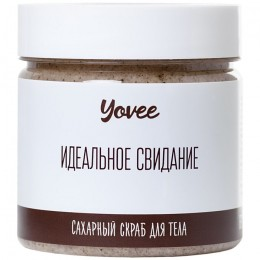 Скраб для тела Yovee by Toyfa «Бразильский» с ароматом кофе 200 гр
