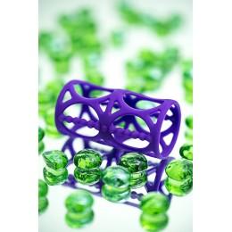 Насадка на пенис TOYFA A-Toys , Силикон, Фиолетовый 7,5 см