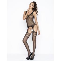 Костюм-сетка Passion Erotic Line чёрный OS